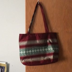 Off Shoulder Tote // Ethiopian